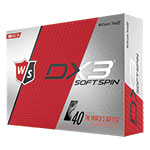 8033 Wilson Staff DX3 Spin Golf Balls