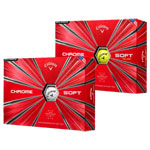 8132 Callaway New 2018 Chrome Soft Golf Balls